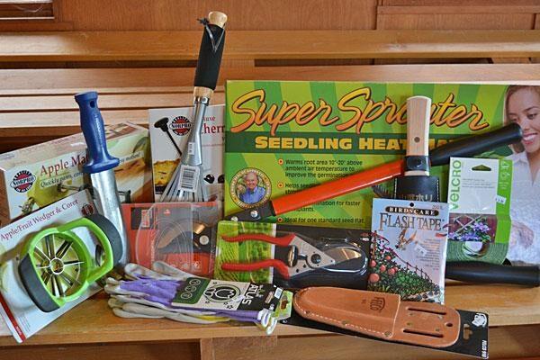 Tools, Fertilizers, Supplies, & Swag